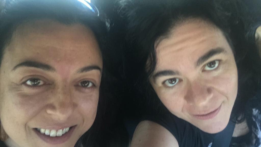 Concho Caro y Ana Caparrós